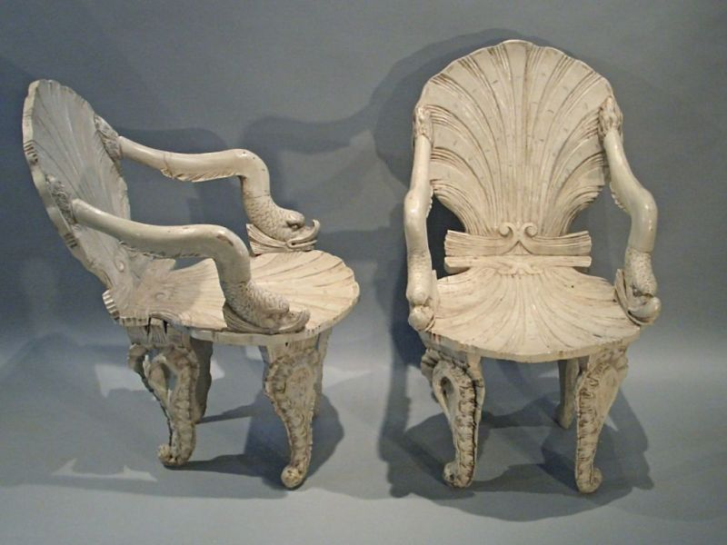 Grotto Chairs   Stock   Christopher Jones Antiques   London   Decorative  Antiques