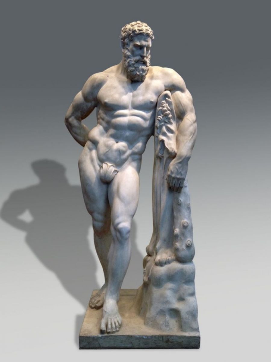 hercules statue stock zugasti antiques design madrid. Black Bedroom Furniture Sets. Home Design Ideas