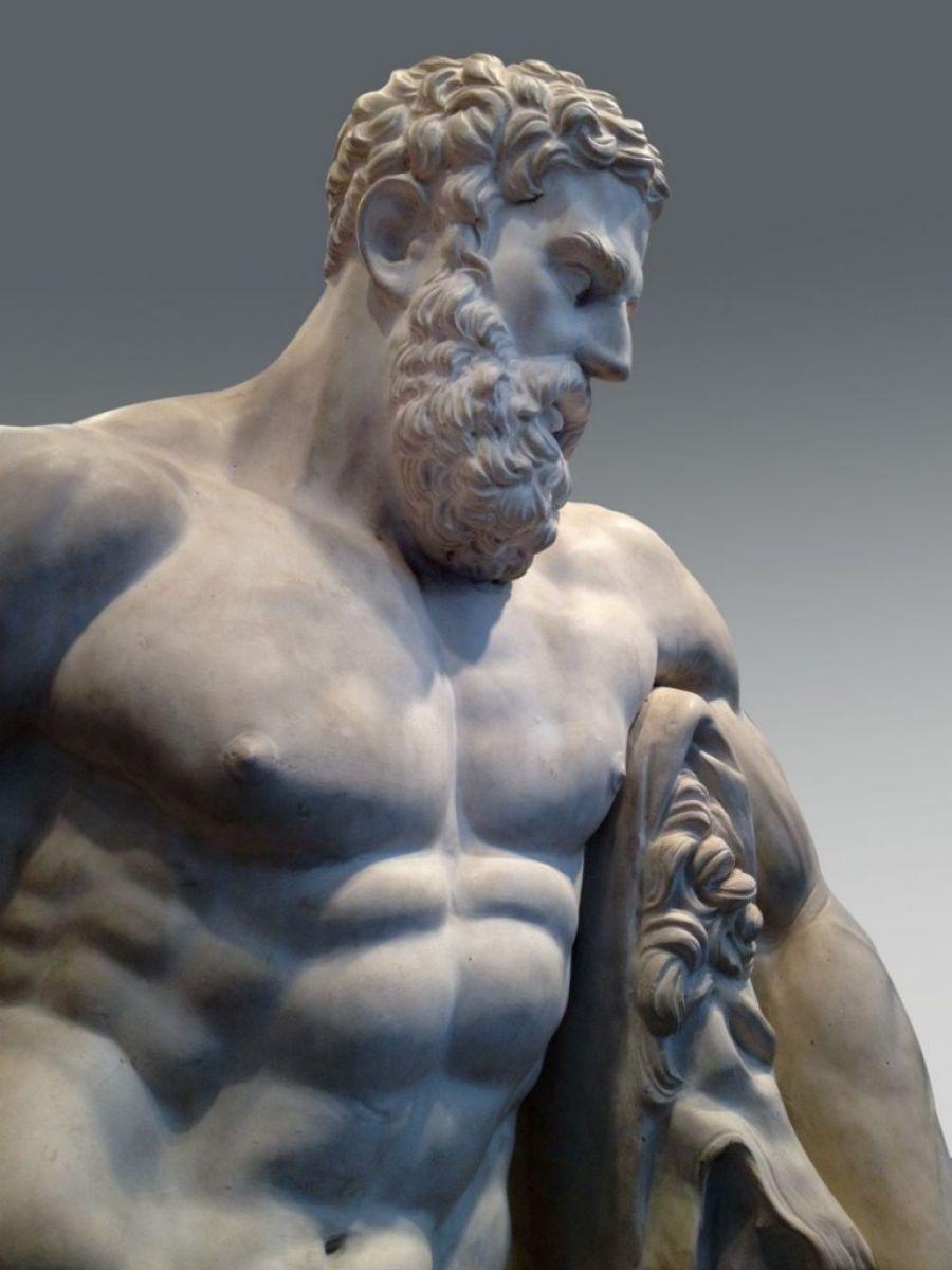Hercules Statue Stock Zugasti Antiques Amp Design Madrid