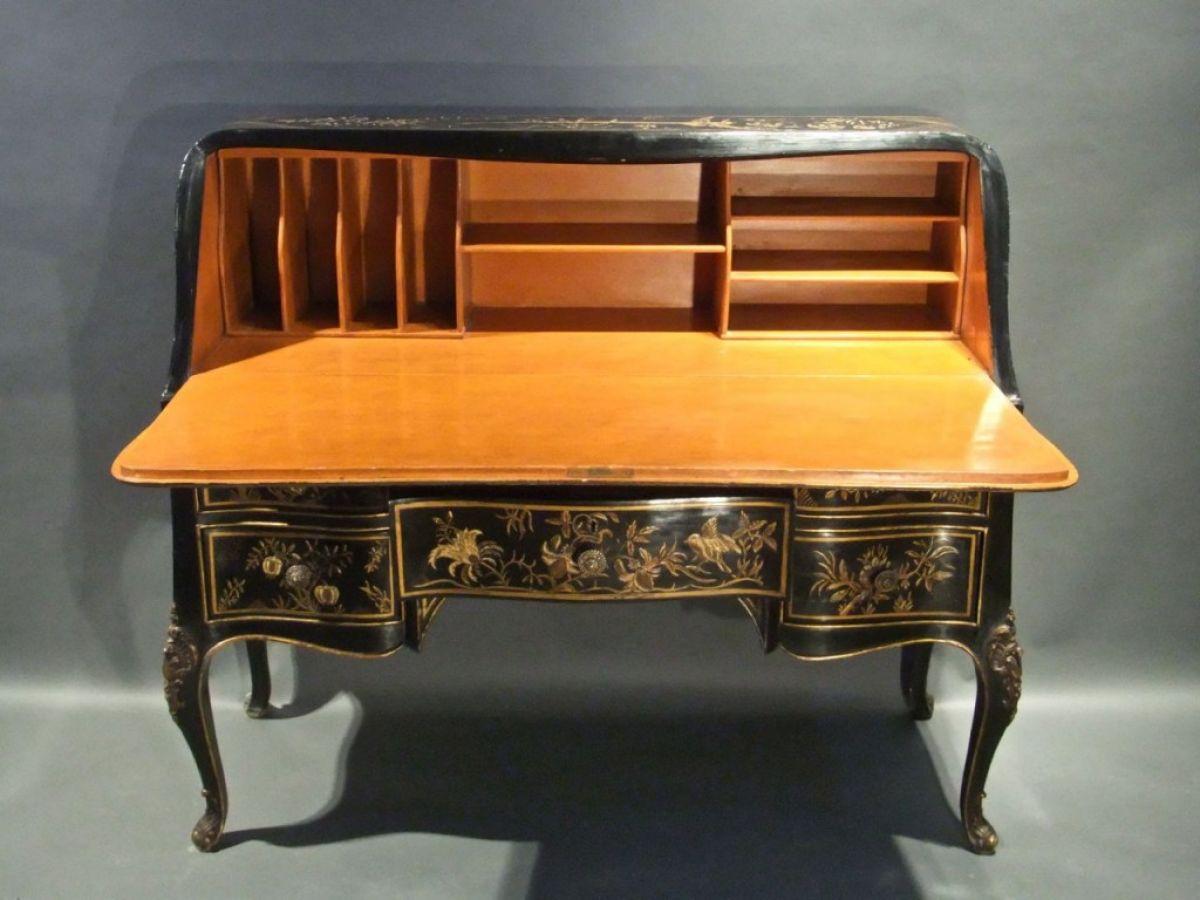 Lacquered bureau stock christopher jones antiques for Bureau stock