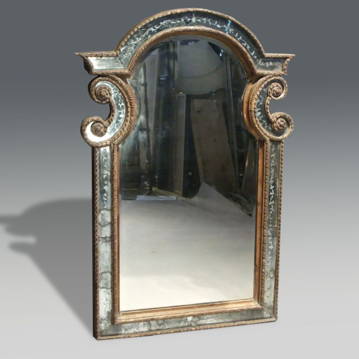 Baroque mirror stock christopher jones antiques for Baroque mirror