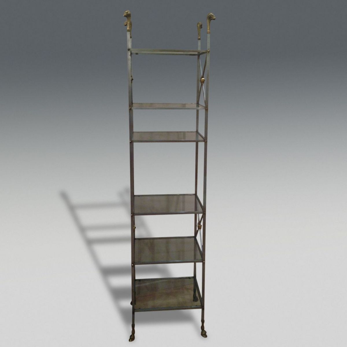 Maison jansen etagere stock christopher jones antiques london decorat - Etagere faite maison ...