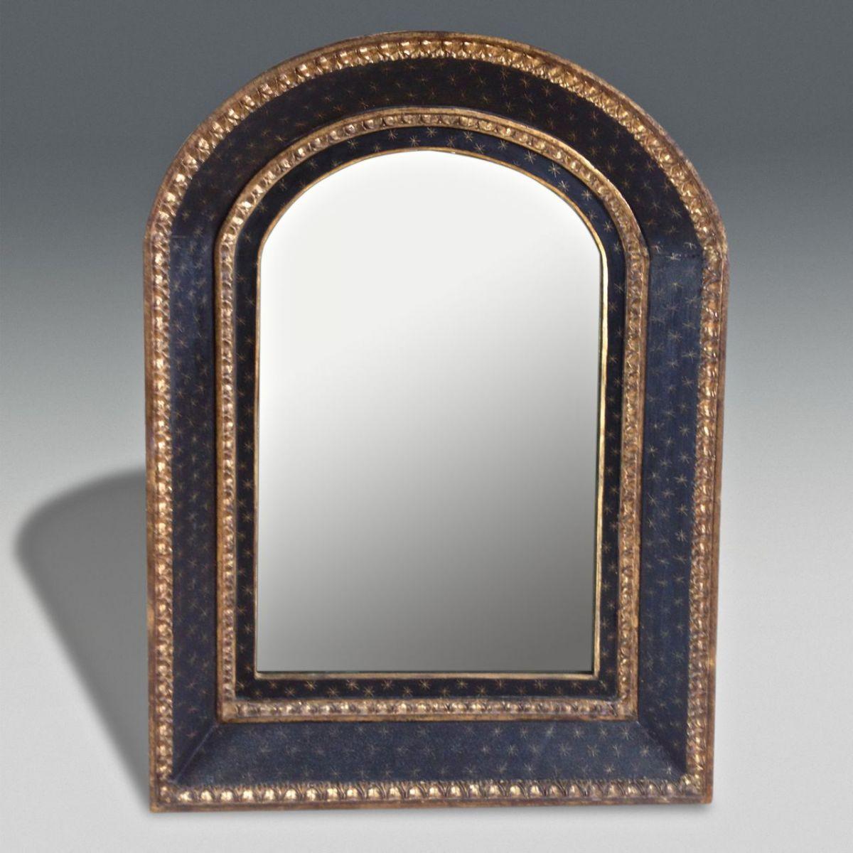 black mirror stock christopher jones antiques london decorative antiques. Black Bedroom Furniture Sets. Home Design Ideas