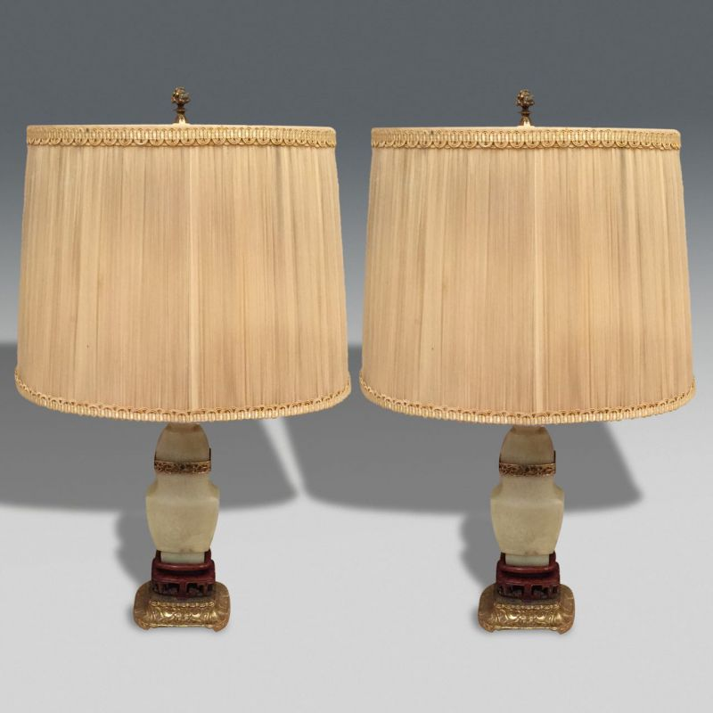 Charming Pair Of Lamps. «